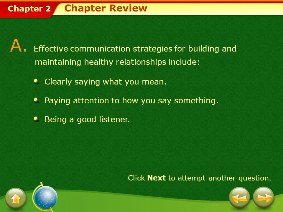 A. Effective communication strategies for building and