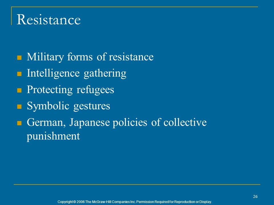 Resistance Military forms of resistance Intelligence gathering