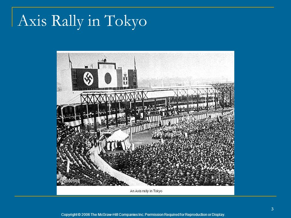 Axis Rally in Tokyo