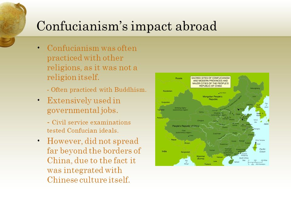 Confucianism's impact abroad