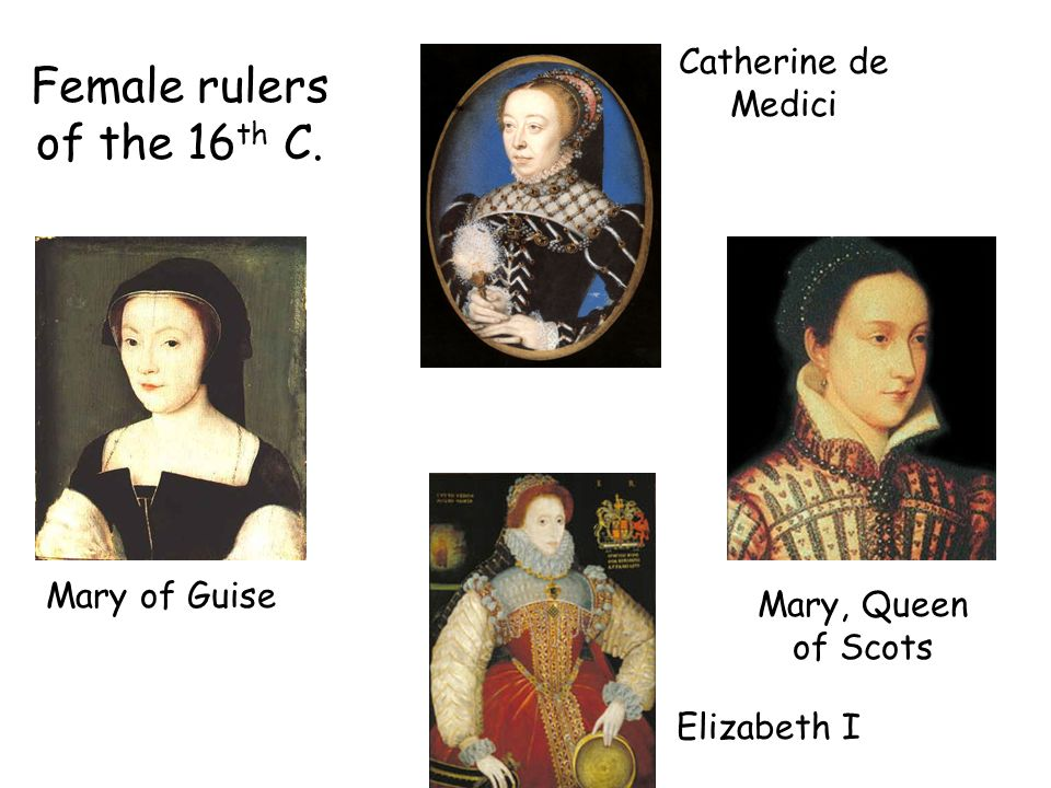 Female rulers of the 16th C.
