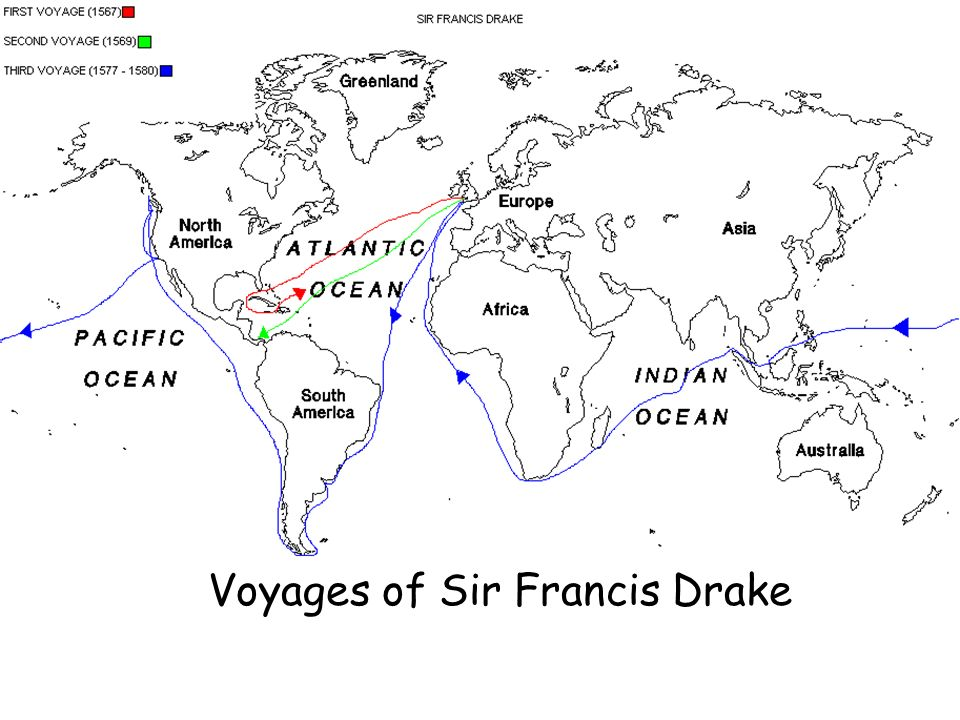 Voyages of Sir Francis Drake