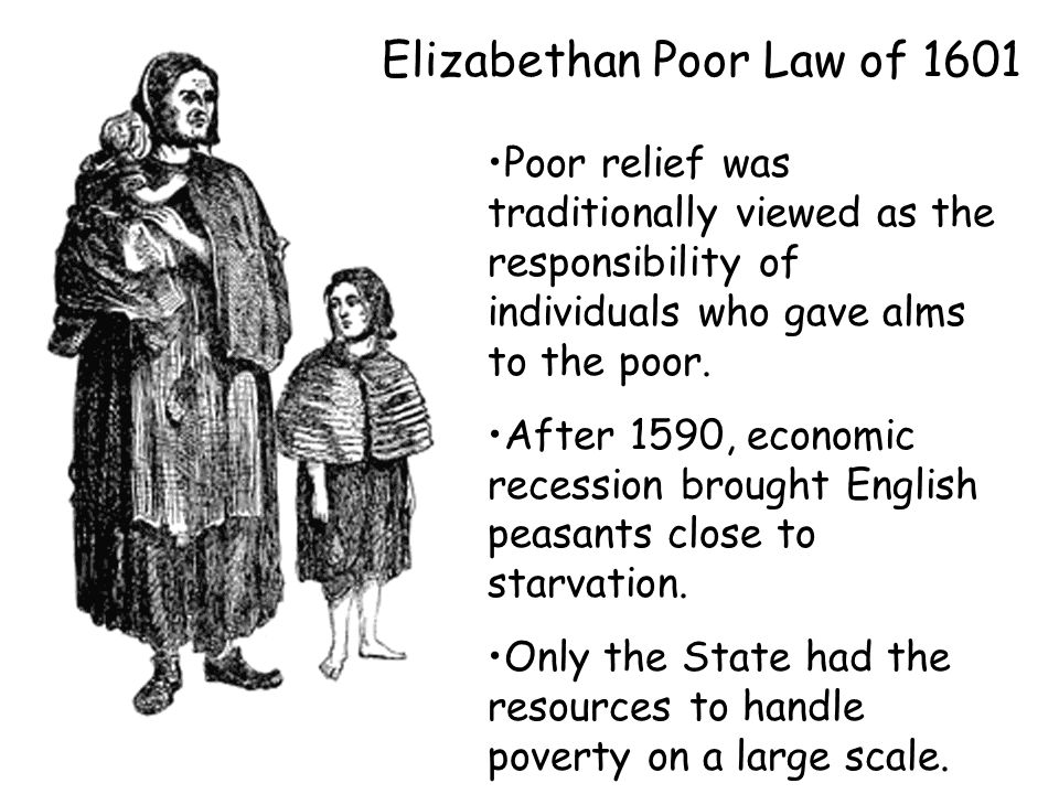 Elizabethan Poor Law of 1601