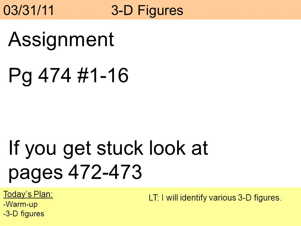 If you get stuck look at pages 472-473