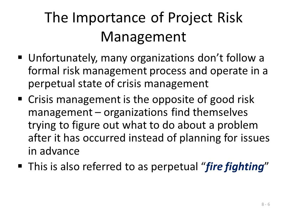 "the importance of project management for You might ask ""what is the importance of project scope"" we all hear about successful projects being within scope, delivered on time and within the assigned budget and yet a large number of project fail to do these things the reason not treating project scope as important."