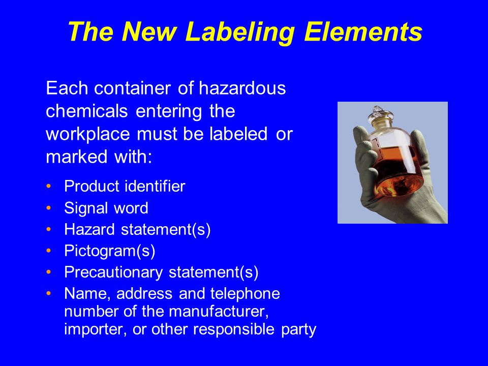 The New Labeling Elements