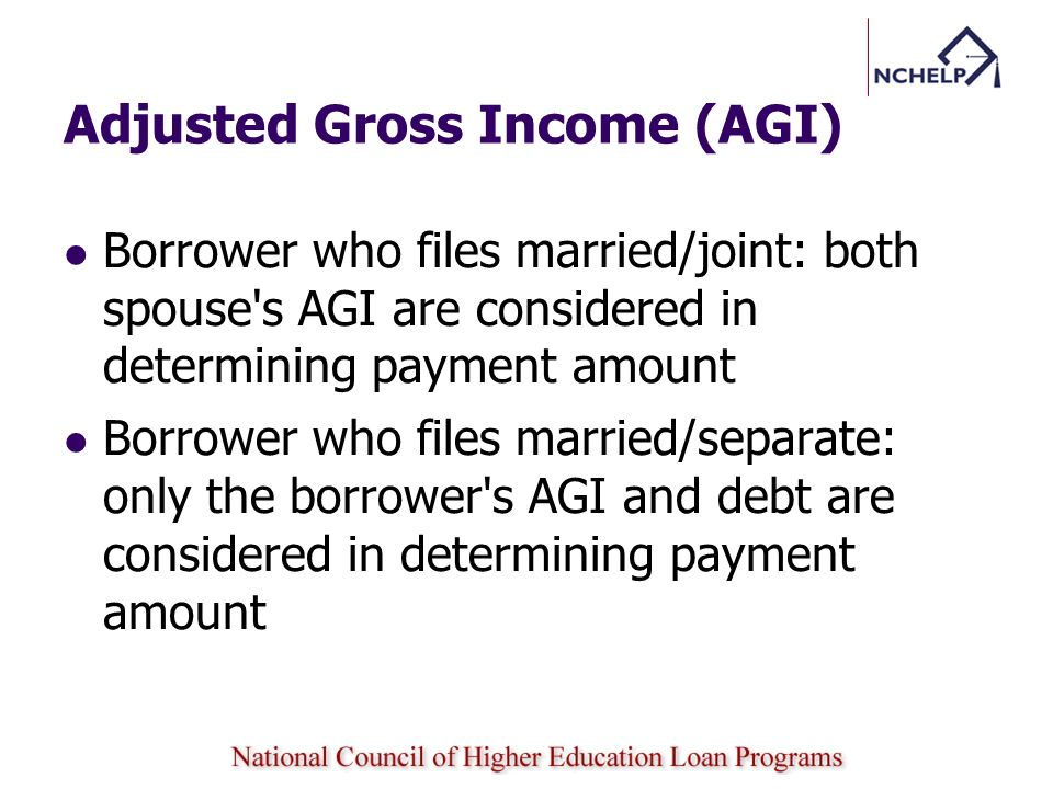Adjusted Gross Income (AGI)
