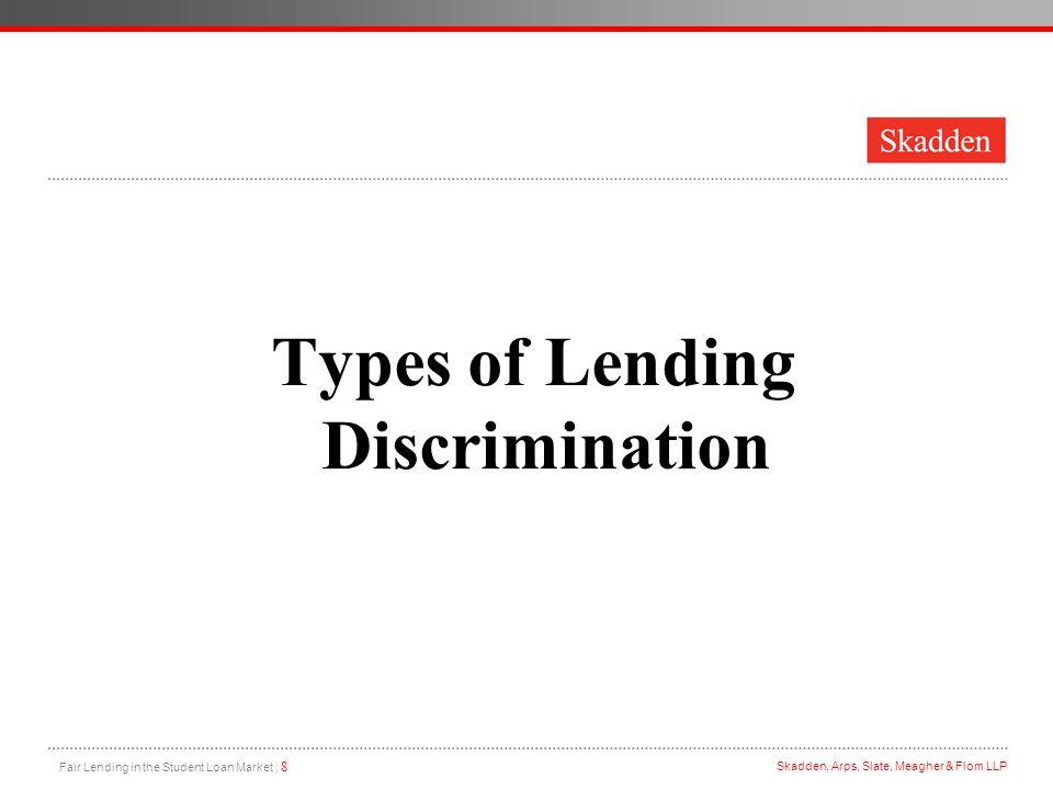 Types of Lending Discrimination