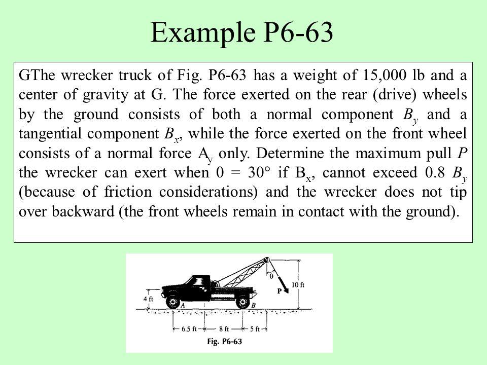 Example P6-63