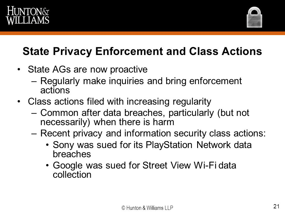 State Privacy Enforcement and Class Actions