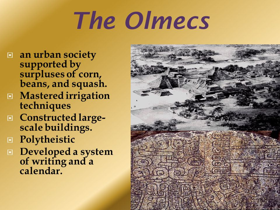 Sswh8 the student will demonstrate an understanding of the 4 the olmecs an urban publicscrutiny Image collections