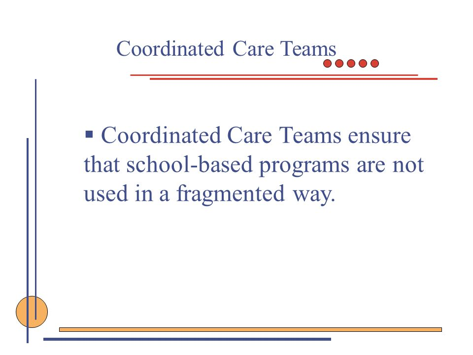 Coordinated Care Teams