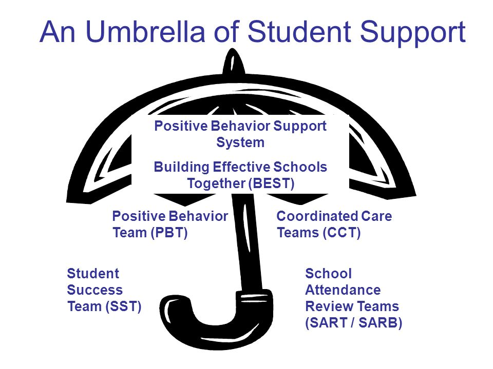An Umbrella of Student Support