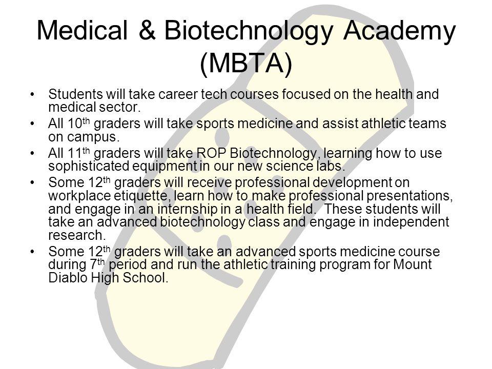 Medical & Biotechnology Academy (MBTA)