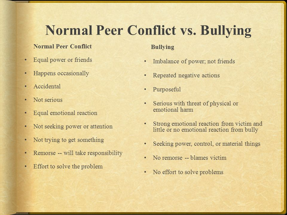 emotional versus physical bullying Smith and others found that bullying via text and social networking sites was of equal impact to traditional bullying, whilst bullying via email, chatroom or instant messaging were thought to have a lesser impact than traditional forms of bullying.