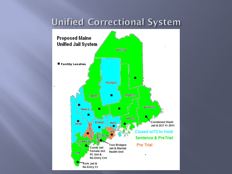 Unified Correctional System