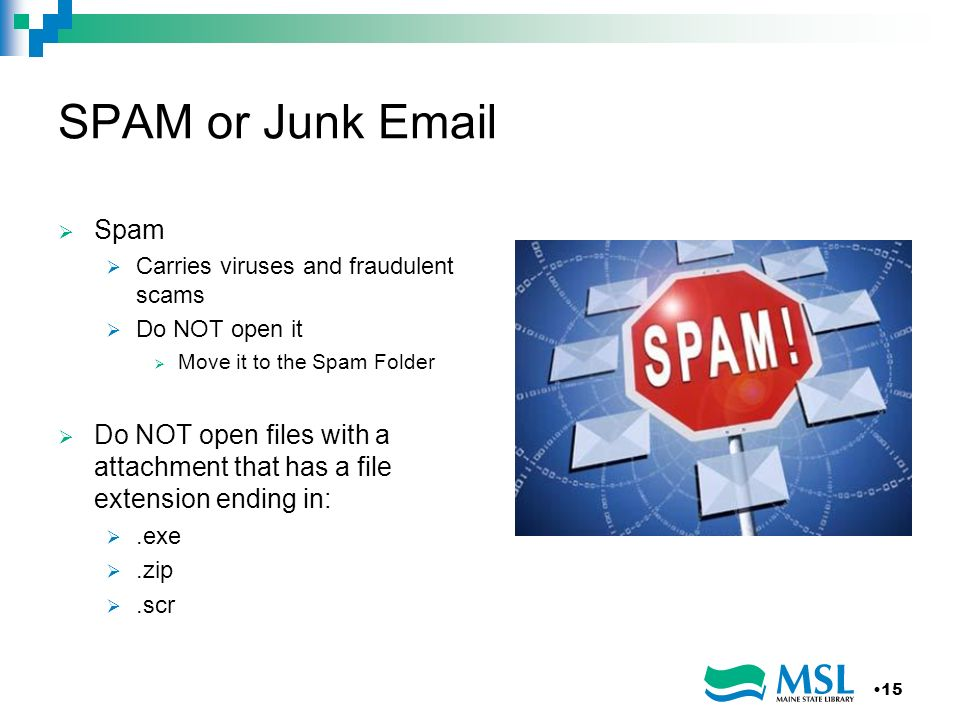 SPAM or Junk Email Spam. Carries viruses and fraudulent scams. Do NOT open it. Move it to the Spam Folder.