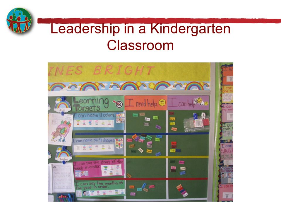Leadership in a Kindergarten Classroom
