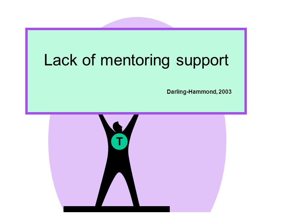 Lack of mentoring support