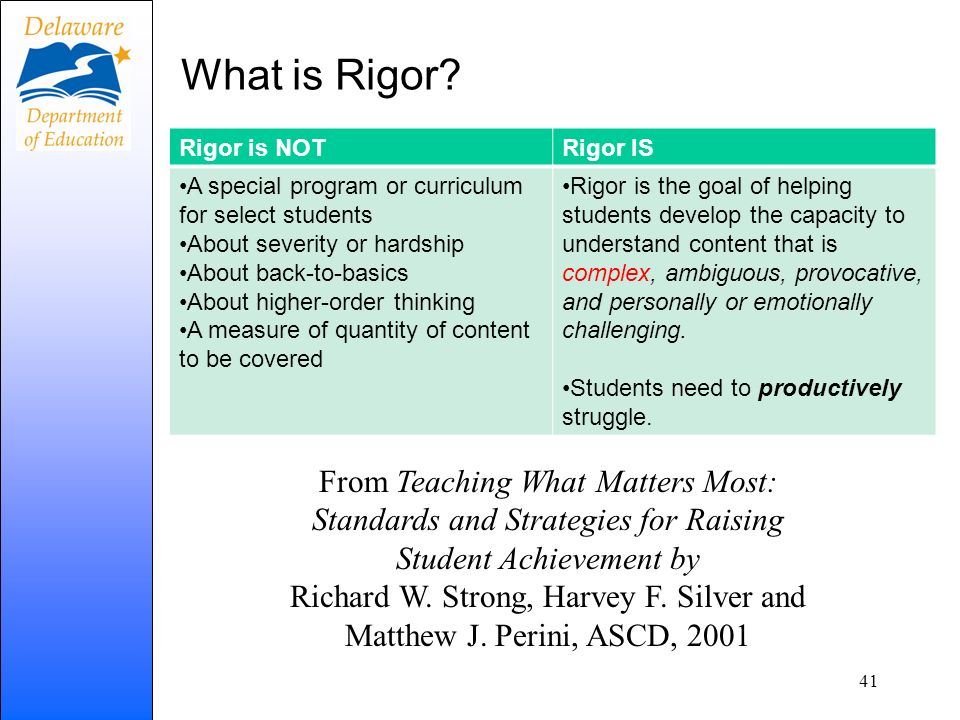 Richard W. Strong, Harvey F. Silver and Matthew J. Perini, ASCD, 2001