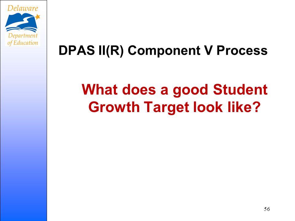 DPAS II(R) Component V Process