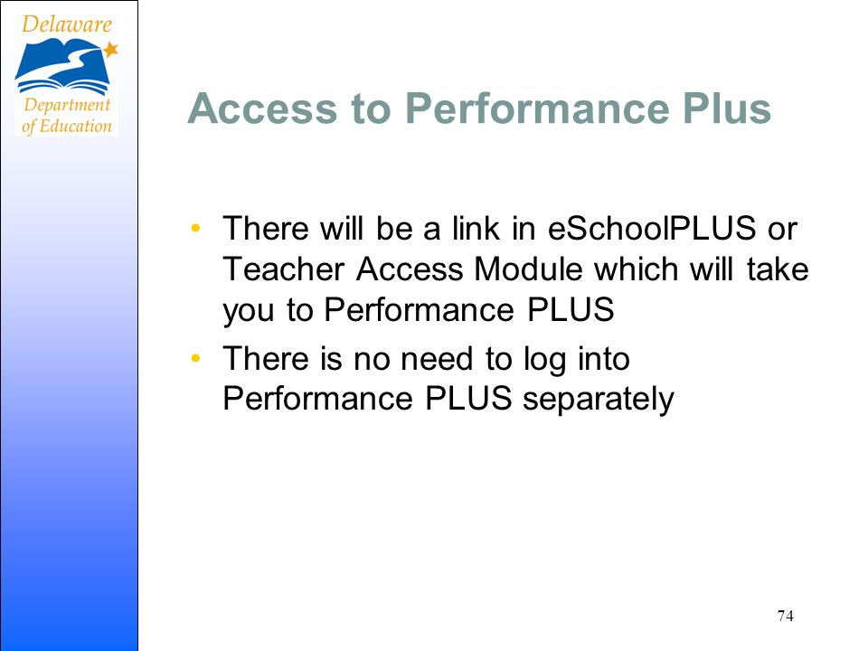 Access to Performance Plus
