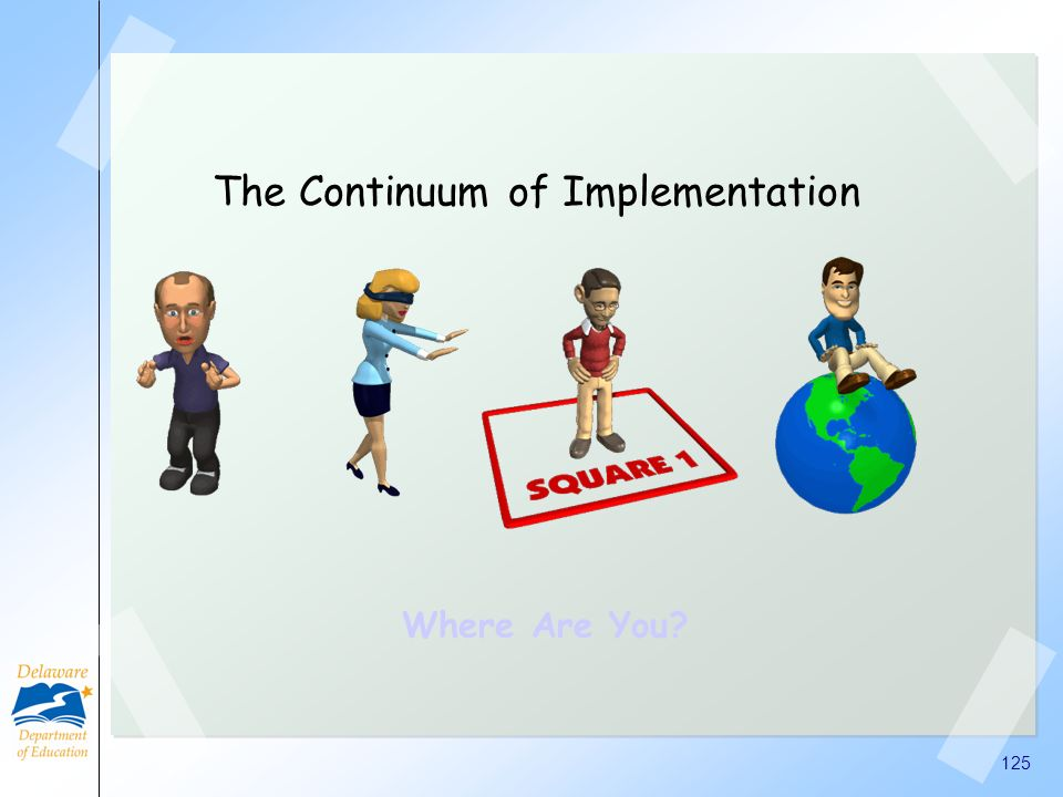 The Continuum of Implementation