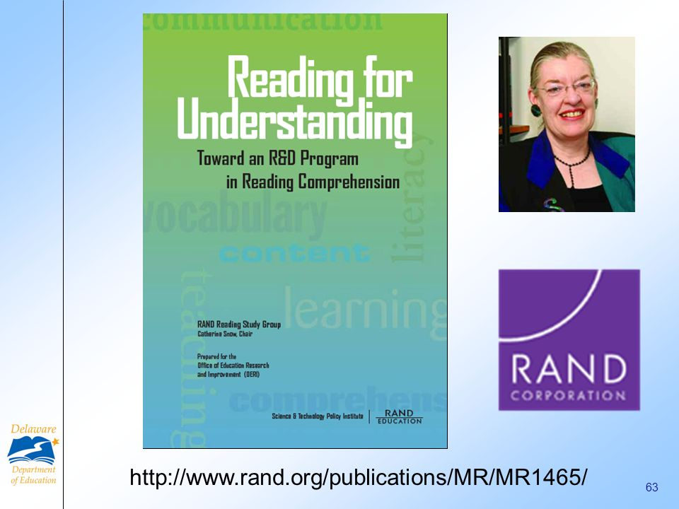 http://www.rand.org/publications/MR/MR1465/ 63