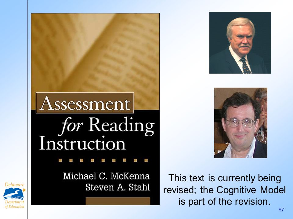 This text is currently being revised; the Cognitive Model is part of the revision.