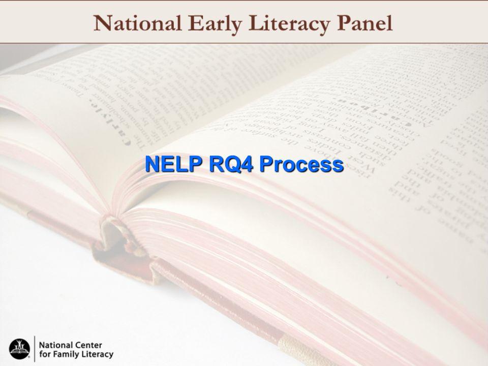 NELP RQ4 Process