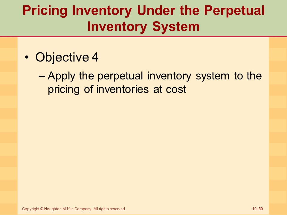 """statement of objective of inventory system Inventory management is """"the practice of planning, directing and controlling inventory so that it contributes to the business' profitability"""" inventory management can help business be more profitable by lowering their cost of goods sold and/or by increasing sales."""