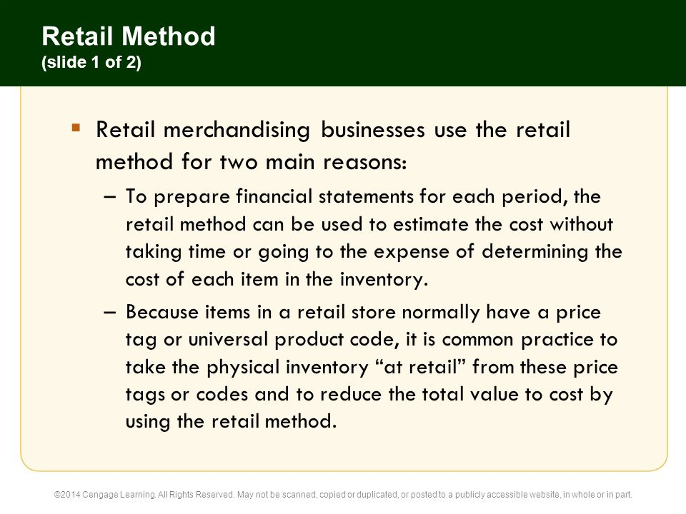 Accounting for retail coupons