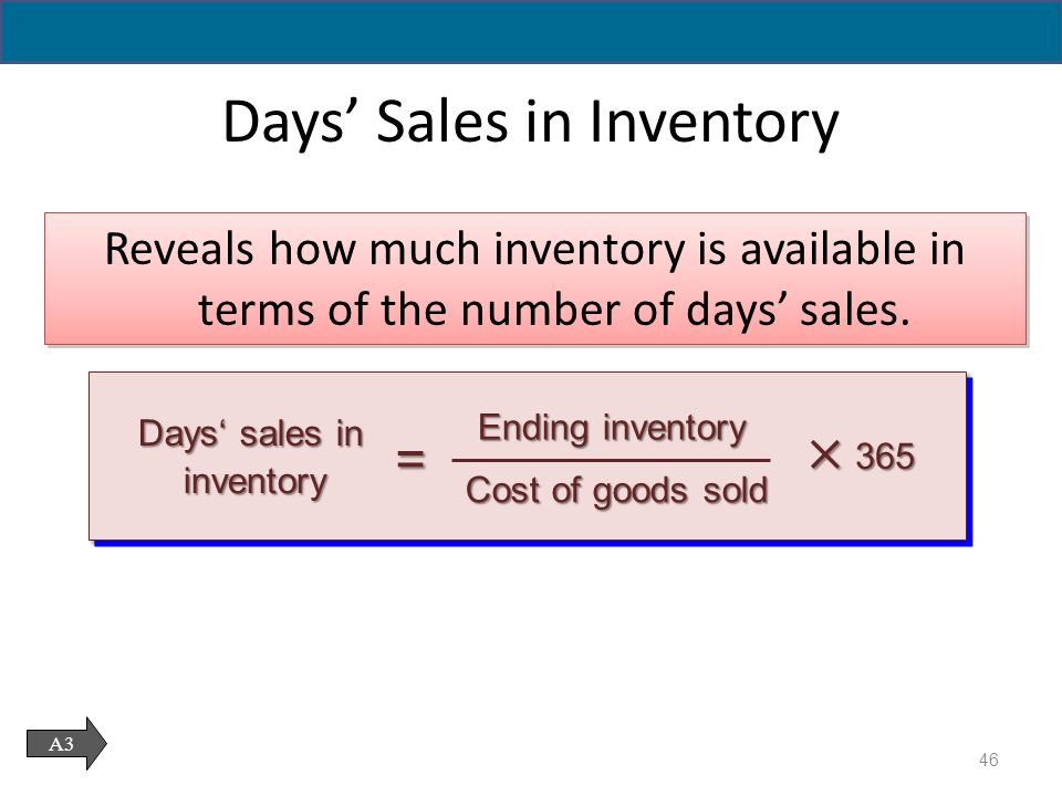 Inventories and Cost of Sales - ppt download