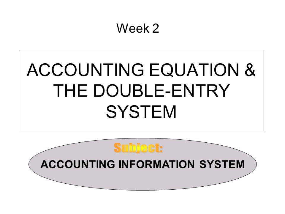 double entry system of accounting means Video: manual accounting system: definition, advantages & disadvantages an accounting system is an essential part of any business in this lesson, learn about the advantages and disadvantages of a manual accounting system what is double-entry accounting.
