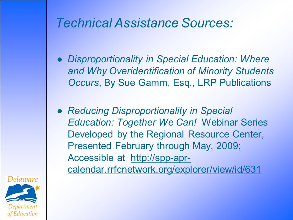 Technical Assistance Sources:
