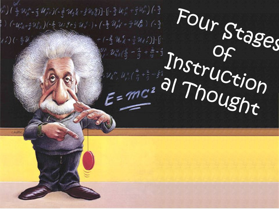 Four Stages of Instructional Thought