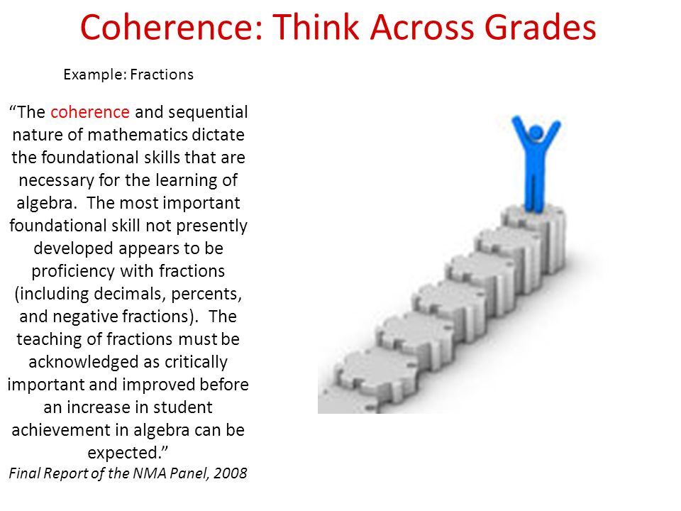 Coherence: Think Across Grades
