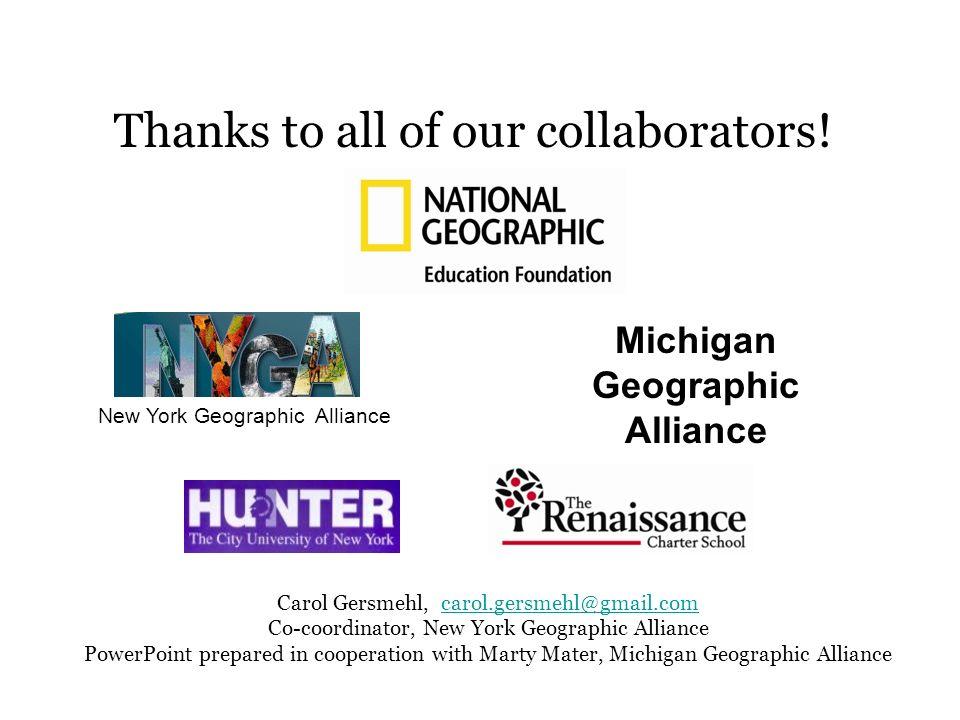 Michigan Geographic Alliance