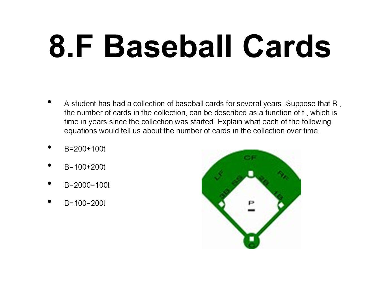 8.F Baseball Cards