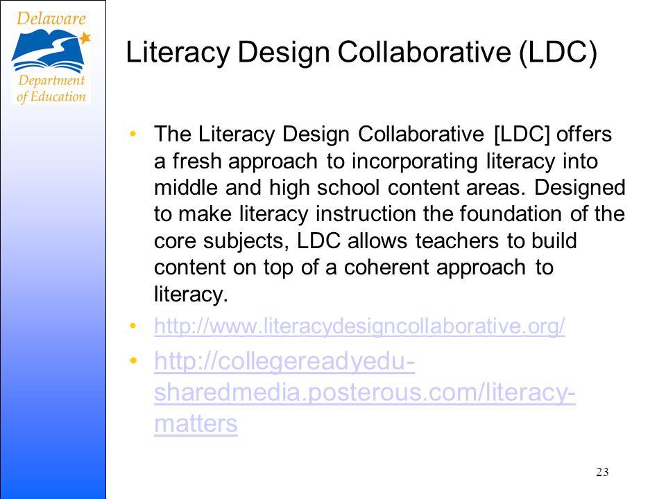 Literacy Design Collaborative (LDC)