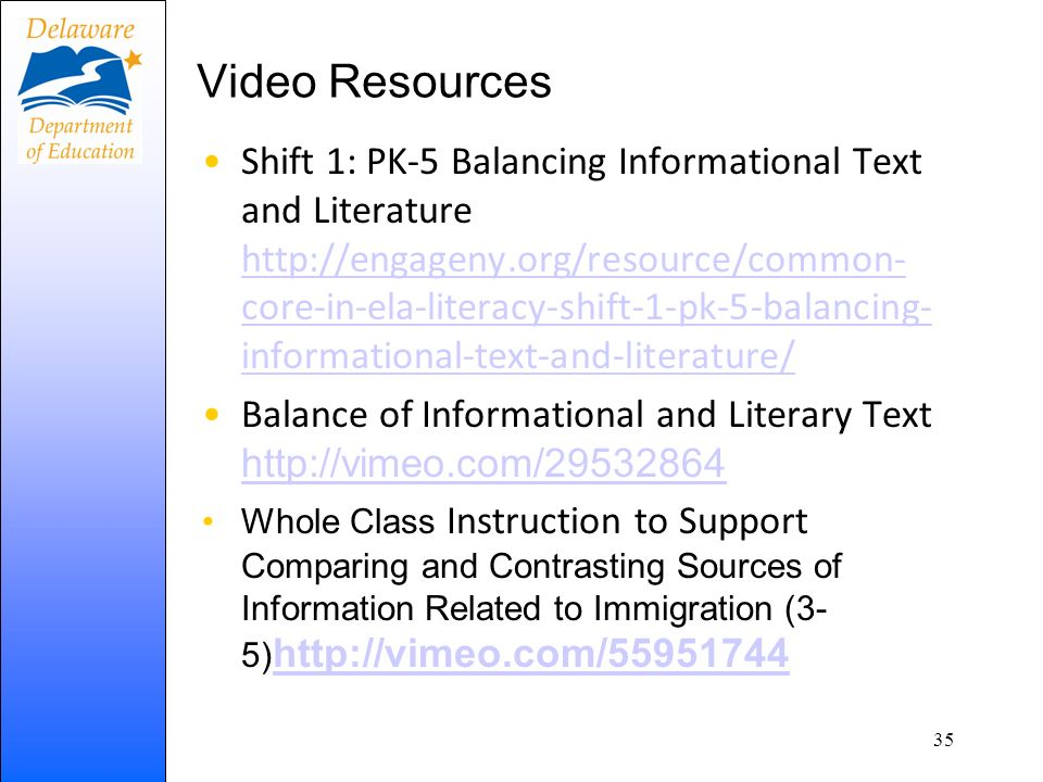 Video Resources