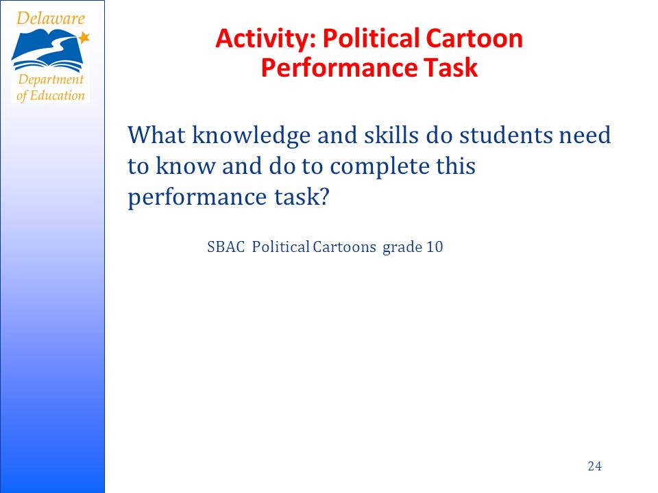 Activity: Political Cartoon Performance Task