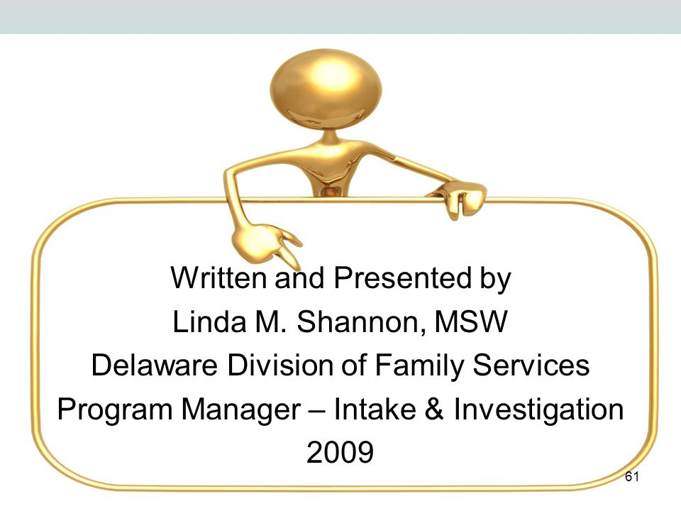 Written and Presented by Linda M. Shannon, MSW