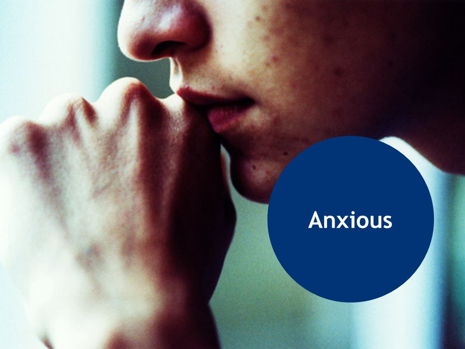 Anxious (PROTECTED) Student appears overly anxious or worried, even fearful.