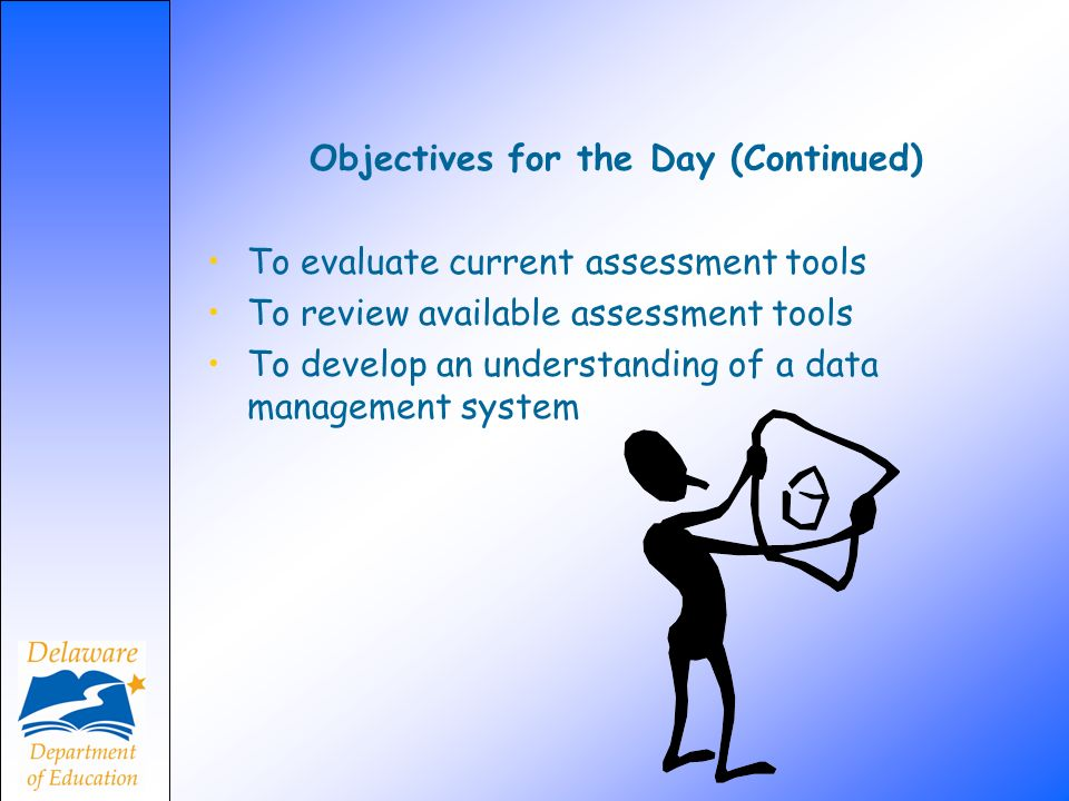 Objectives for the Day (Continued)