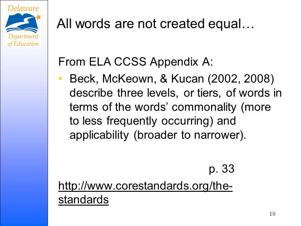 All words are not created equal…