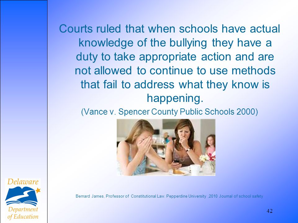 (Vance v. Spencer County Public Schools 2000)