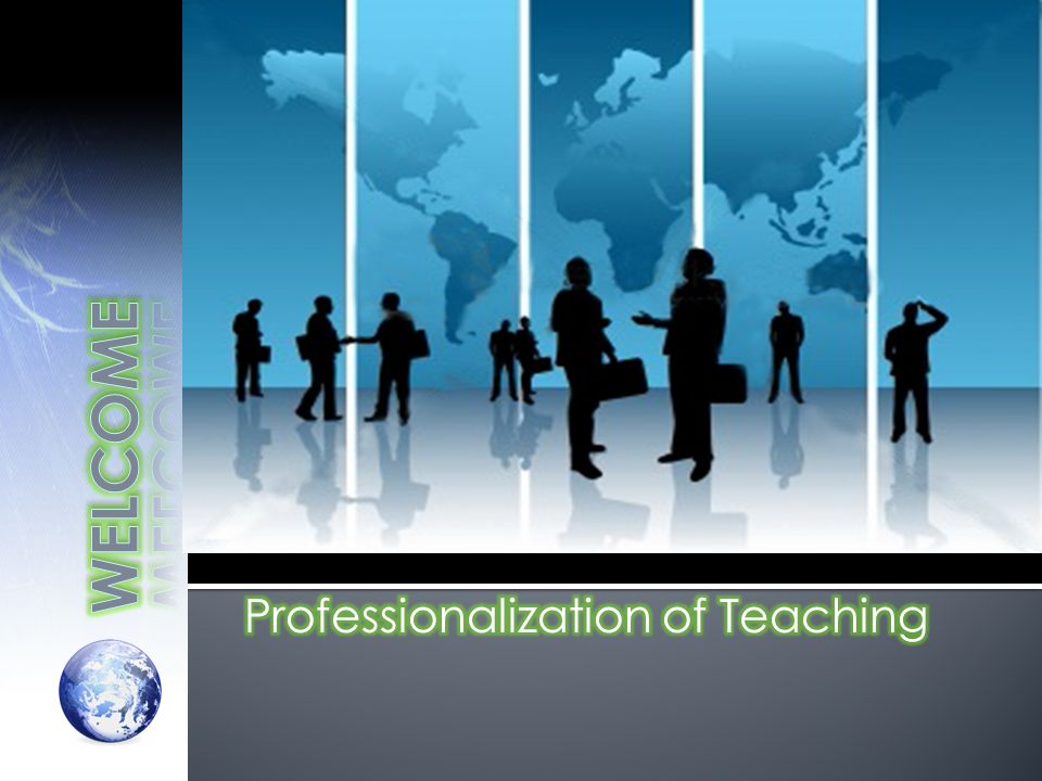 Professionalization of Teaching