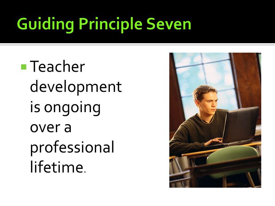 Guiding Principle Seven