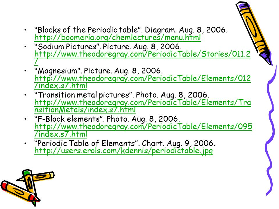 Chapter 5 the periodic law ppt video online download blocks of the periodic table diagram aug 8 2006 http urtaz Image collections